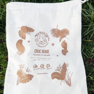 Screen-printed organic...