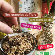 Our naturally sweet granolas